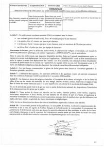 Arrêté n°2A2020-07-10-002 du 10 juillet 2020 portant sur l'ouverture et clôture de la chasse pour la campagne 2020-2021 dans le département de la Corse du sud