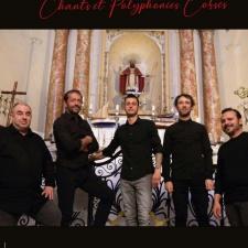 Concert de chants Corses avec le groupe Eternu