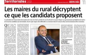 Article Corse matin du 16/06/2021