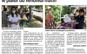 Article de Corse Matin du 20 juin 2021