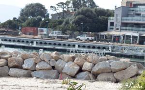 Les travaux du Port Jean Tomi