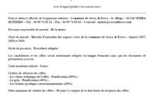 Marché triannuel 2017 - 2018 - 2019 Entretien des espaces verts