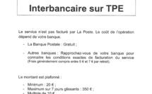 Retrait cash advance sur TPE
